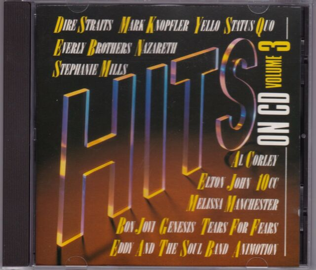 Hits On CD - Vol 3 - Various Artists - CD (Mercury 824 704-2 01 West Germany)