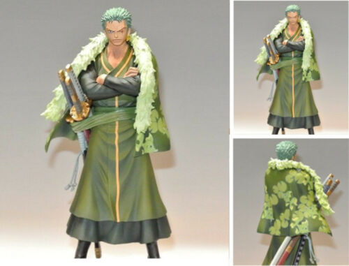 One Piece DXF 15th Anniversary Grandline Men Roronoa Zoro Figure PVC Gift No Box