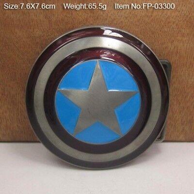 CTM Marvel Avengers Captain America Shield Belt Buckle