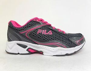 4e01762fa655 FILA Women s TREXA LITE 4 COOLMAX Running Shoes Grey Pink 5SR20326 ...