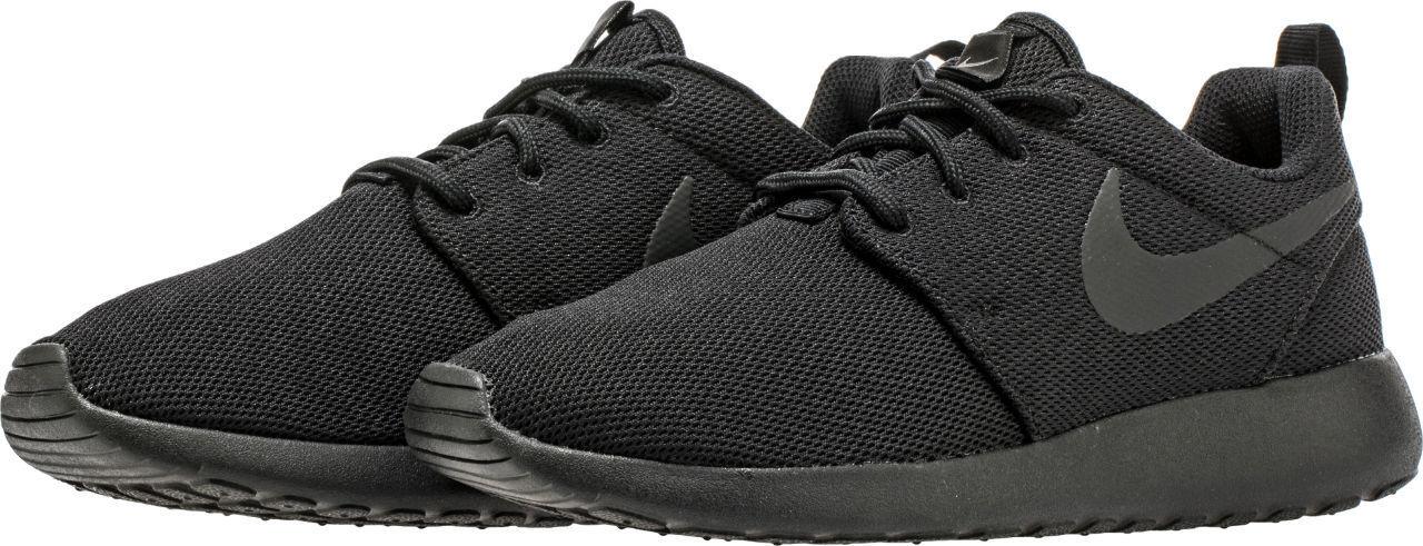 Women's Nike Roshe One Lifestyle Black/Black Sizes 6-10 New In Box 844994-001