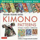 Origami Paper Jumbo Pack: Kimono Patterns: 16-Page Book, 300 Folding Sheets in 3 Sizes (6 Inch; 6 3/4 Inch and 8 1/4 Inch) by Tuttle Publishing (Hardback, 2016)