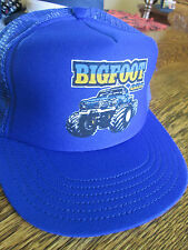 Vintage BIGFOOT Monster truck snapback hat. 1980'S  New NOS Excellent never used