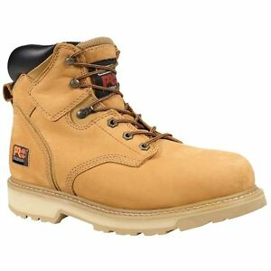 018079e2247 Details about Men's Timberland Pro Pit Boss 6-Inch Soft Toe Work Boot  Nubuck Wheat 33030