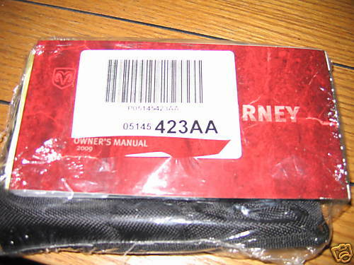 2009 DODGE JOURNEY OWNERS MANUAL OWNER'S NEW SEALED SET Car ...