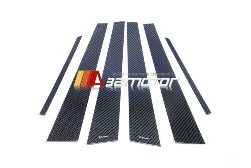 Carbon Fiber Varis Door B Pillar Panel Covers for Mitsubishi Evolution EVO 7 8 9