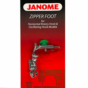 Janome-Zipper-Foot-200342003-For-Horizontal-Rotary-amp-Oscillating-Hook-Models