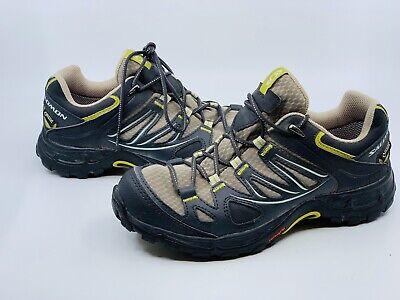 Salomon Women's Ellipse GTX Low Thyme Asphalt Dark Green Hiking Shoe Size 6 | eBay