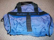 Vintage Playboy Sport Bunny Heads Rabbits Duffel Bowling Luggage Travel Gym Bag