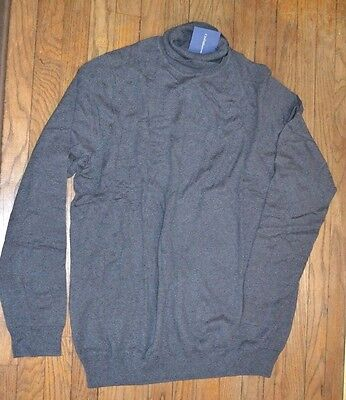 Croft /& Barrow Light Weight Sweater Turtleneck Black Mens Big /& Tall Collection