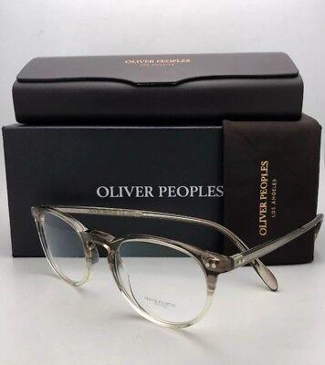 New Oliver Peoples OV 5004 Riley R 1647 MILITARY VSB Eyeglasses.