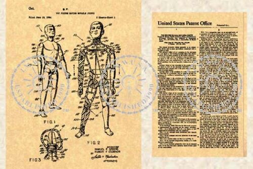 United States Patent for Vintage GI JOE #045