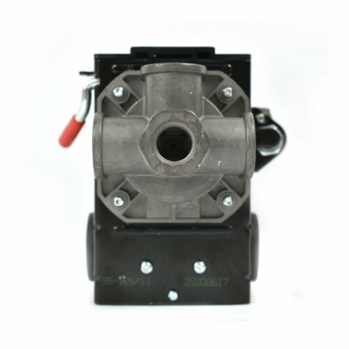 Bend Lever Swicth 95-125 PSI Pressure Switch 1//4 inch FPT Four Port