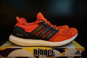 online store 8feab b6df4 Image is loading Adidas-Ultra-Boost-1-0-Solar-Red-Black-