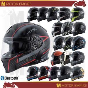 TORC-T14-T-14B-Mako-Full-Face-Motorcycle-Helmet-DOT-Standard-or-Bluetooth-XS-2XL