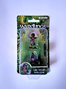 Wardlings-Girl-Wizard-amp-Genie-pet-D-amp-D-Miniature-Dungeons-Dragons-pathfinder-A