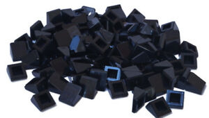 LEGO-100-x-Mini-Dachstein-30-Grad-1x1x2-3-schwarz-54200-NEUWARE-L04