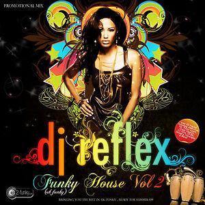 Details about DJ REFLEX FUNKY HOUSE MIX CD VOL 2