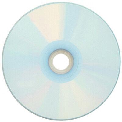 10-Pak CMC PRO =WATERSHIELD & GLOSSY= Silver Pearl Inkjet Hub 52X CD-R's