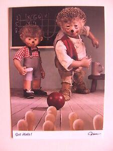 Postkarte-AK-Mecki-Nr-454-034-Kegelbahn-034-Gut-Holz