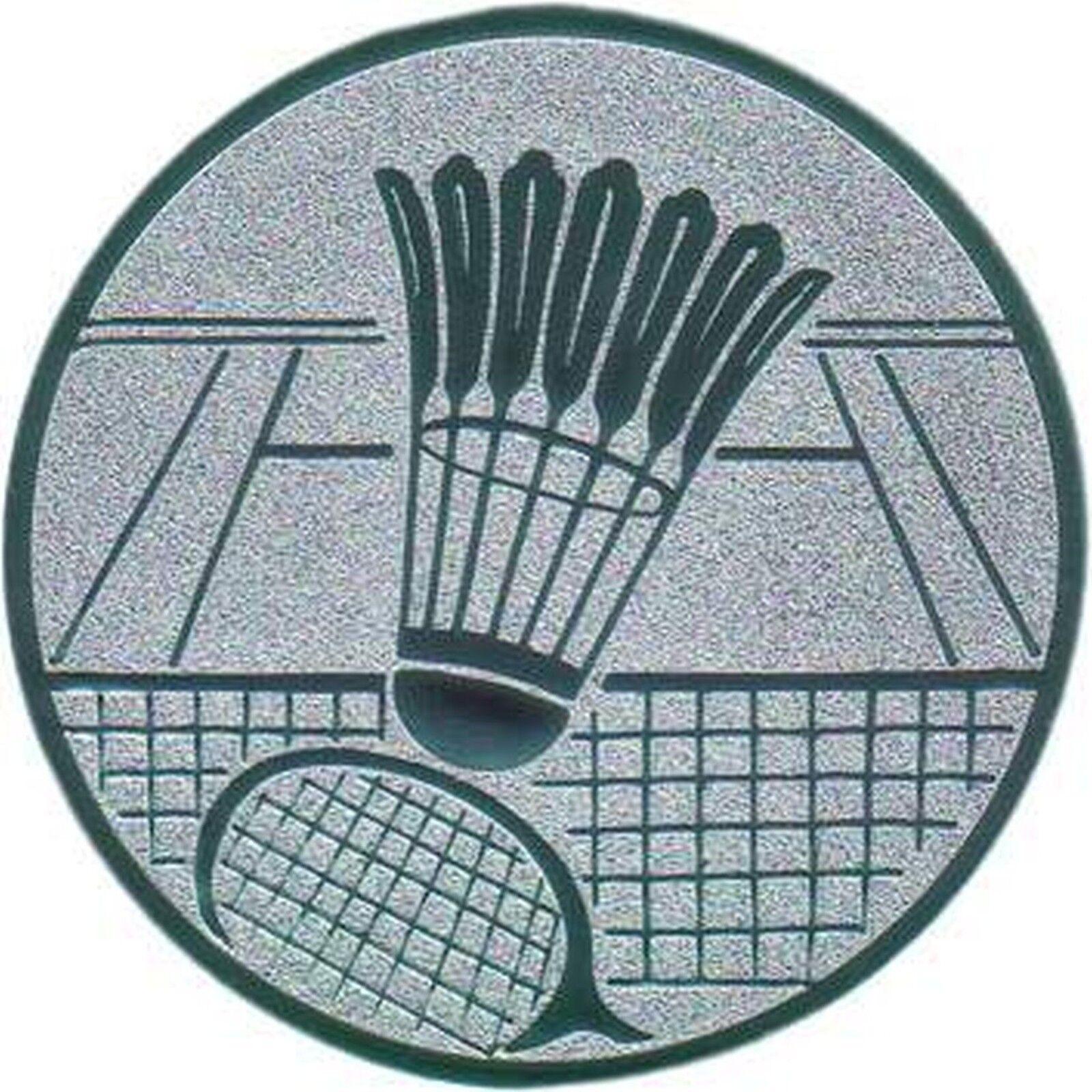 100 große Embleme Badminton Gold  D 50mm (für (für (für Medaillen Pokale Pokal Medaille) 4a7118