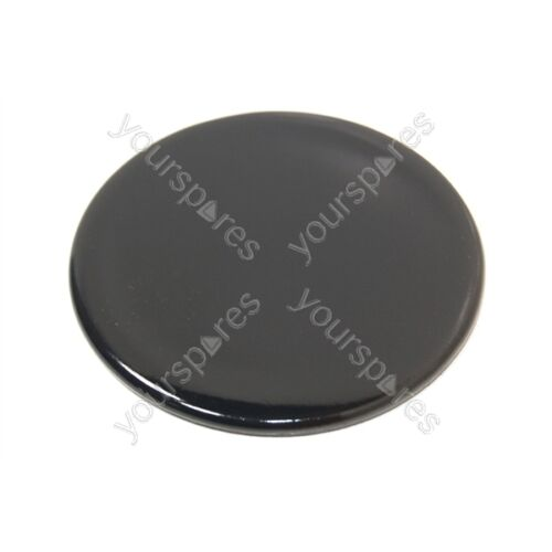 55mm Genuine Tricity Bendix Gas Hob Black Small Burner Cap
