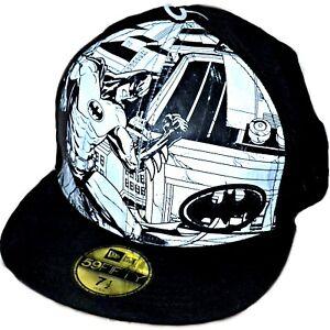 c6373a75878 New Era 59FIFTY DC Comics Batman Comic Reflect Reflective Baseball ...