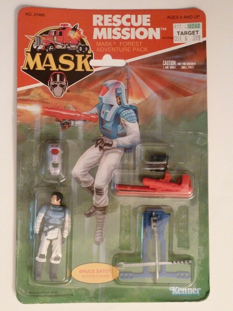 M.A.S.K. -  (Blister) - Rescue Mission - Forrest Adventure Pack - Bruce Sato