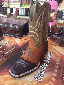 Botas cowboy PIEL marrón | Botas vaqueras, Botas vaqueras