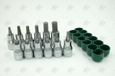 SK Hand Tools 19731 10Piece 1//4 Drive Fractional Hex Bit Socket Set
