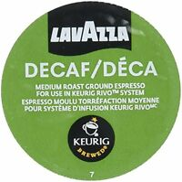 Lavazza Espresso Decaf Keurig Rivo Pack, 18 Count, New, Free Shipping on Sale