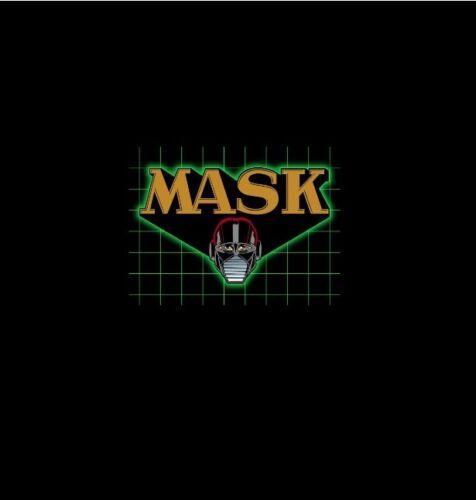 80s Mask Vintage cartoon sticker vinyl decal