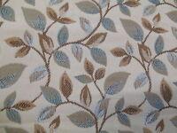 Italian Tapestry Wychwood Woven Furnishing Fabric  Samuel Simpson Blue