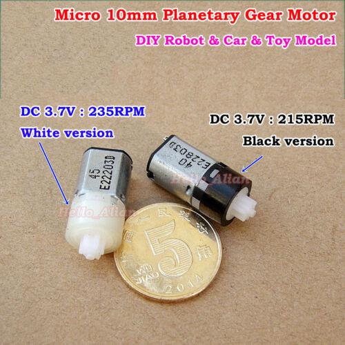 Mini 10mm DC 3V 3.7V 4.2V Micro Planetary Gearbox Speed Reducer Gear Motor Robot