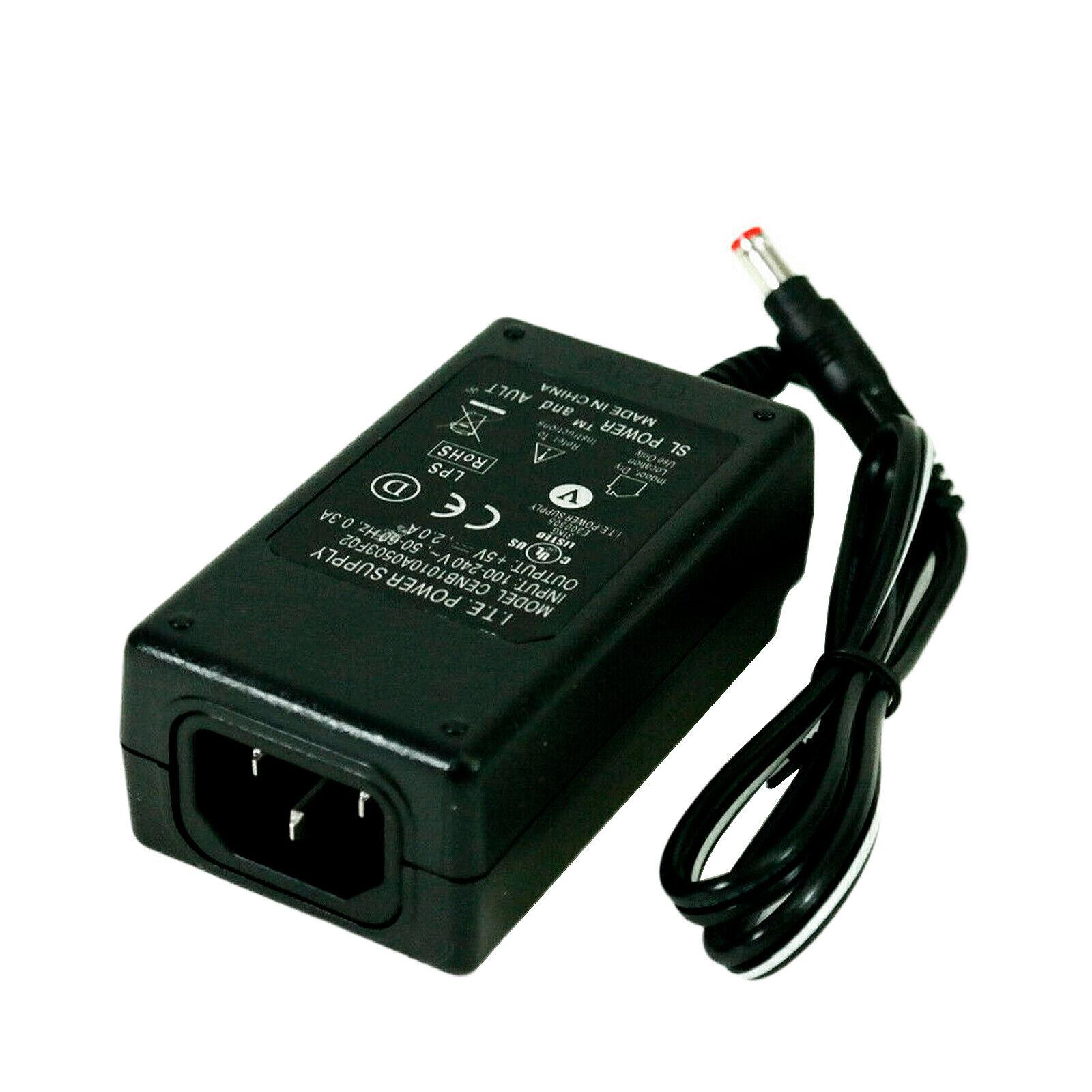 NEW Genuine I.T.E AC Power Adapter 5V 2A For Cisco ATA-182 ATA-186 VoIP w/o PC