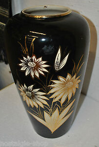 50er-60er-Scheurich-Vase-Keramik-50s-Dekoration-Bodenvase-mid-Century-Rockabilly