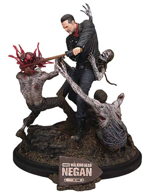 Mcfarlane Toys The Walking Dead Limited Edition Negan Resin Statue