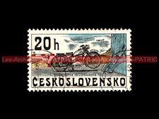 CZ 150 STRAKONICE 1951 - CESKOSLOVENSKO - TCHECOSLOVAQUIE : Timbre Poste Moto
