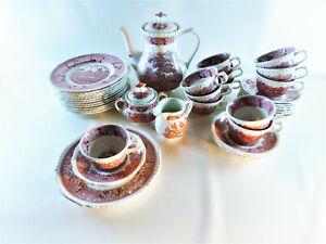 Adams-English-Scenic-Red-Porzellan-Kaffeeservice-12-Personen-mit-Kaffekern
