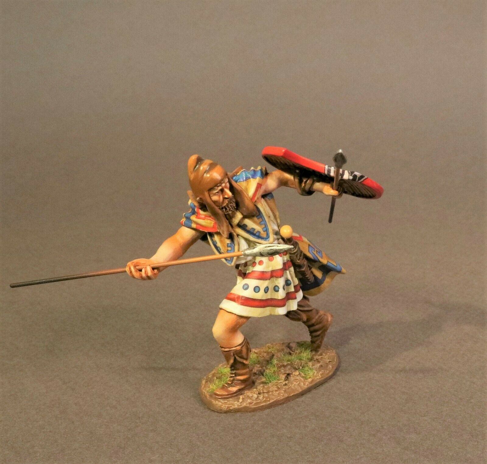 JOHN JENKINS ROMAN EMPIRE AGE OF ARTHUR TH-08A THRACIAN PELTAST MIB