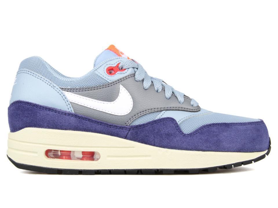 Damenschuhe Nike Nike Damenschuhe Air Max 1 Essential Neu Sneaker Gr:38 Grau-Blau 90 95 97 Premium 809753