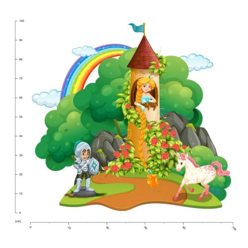 Rapunzel Märchen Wandtattoo WS-47091