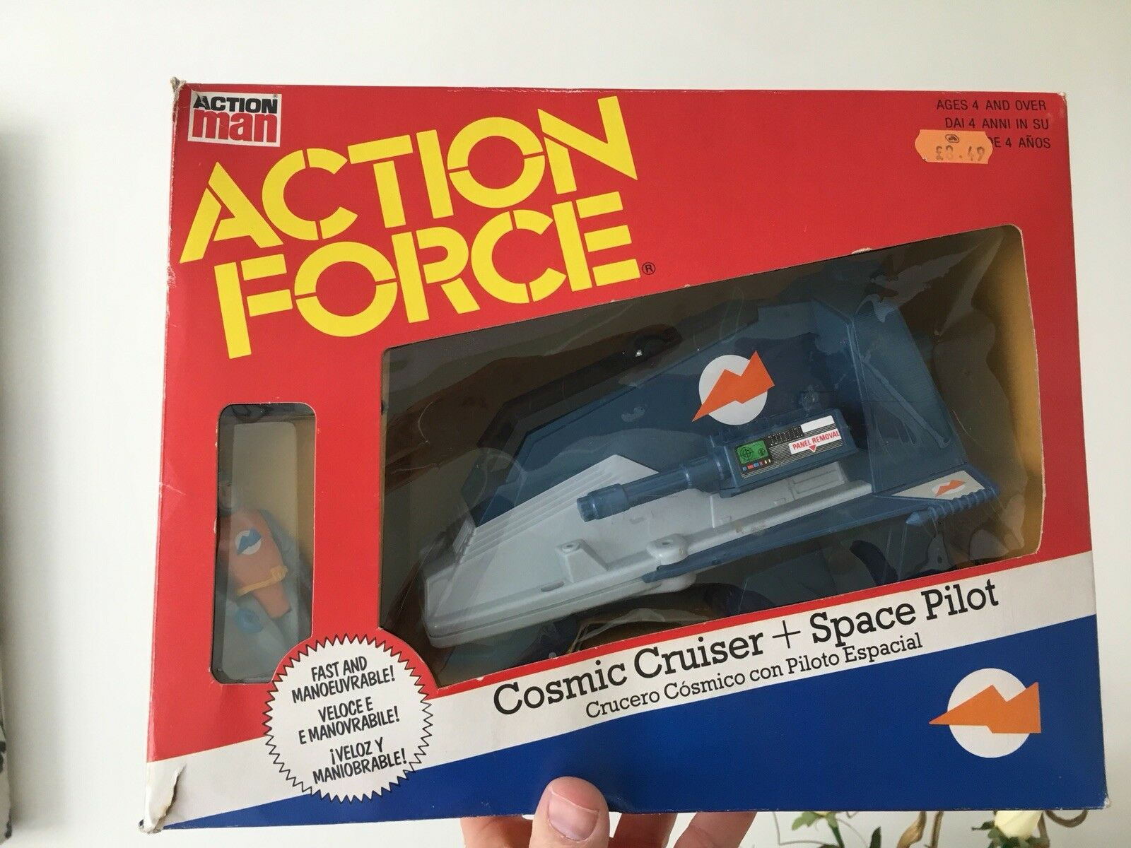 Palitoy Action Force Cosmic Cruiser Box Boxed