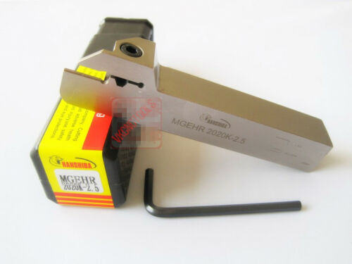 MGEHR2020K-2.5 External Parting-off Tool 20mm*125mm for MGMN250 2.5mm Width