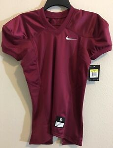 best website ce95f a81d0 Details about NWT Boys Nike Stock Vapor Youth Practice Football Jersey  Maroon Wine Burgundy$45