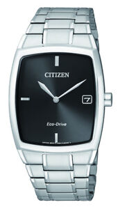 NEW-Citizen-Mens-Silver-Stainless-Steel-Eco-Drive-Date-Watch-AU1070-82E
