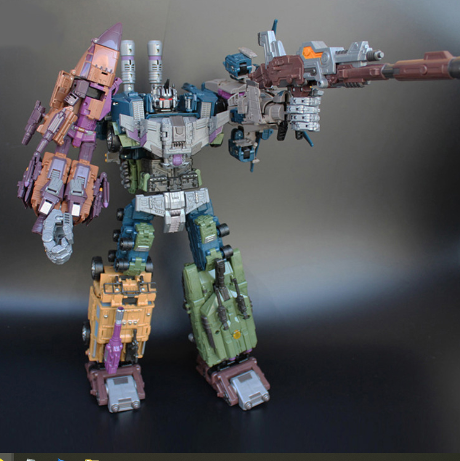 IN STOCK Bruticus Decepticons OverDiessisioned Warbotron 55CM gree giocattolo WITH scatola Gift