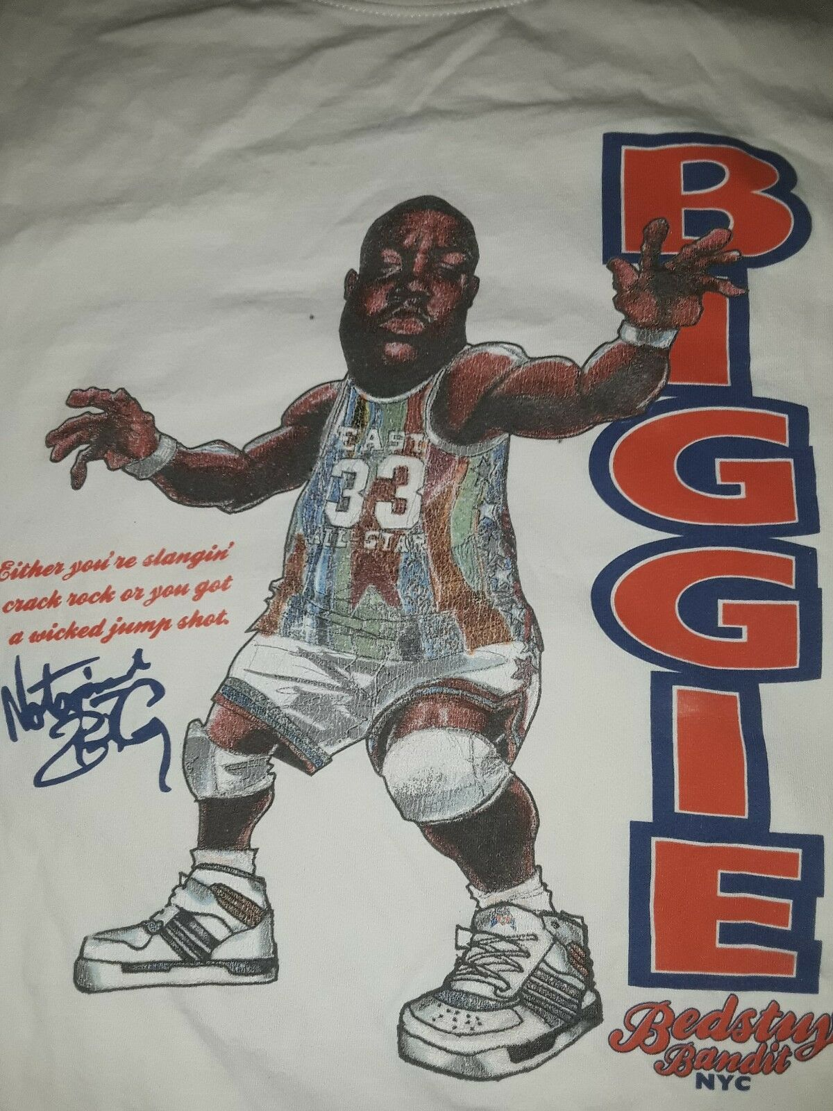 Undrcrwn Notorious BIG (Biggie Smalls) T-Shirt