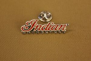 Indian Motorcycle Logo Pin For Hats And Jackets, Show Off Your Motorcycle Pride!