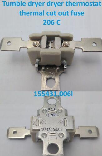 TERMOSTATO Asciugatrice Hoover 206 C fusibile termico cut out 155431.006 L